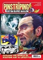 Pinstriping & Kustom Graphics Magazine Nr. 17