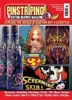 Pinstriping & Kustom Graphics Magazine Nr. 19