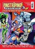 Pinstriping & Kustom Graphics Magazine Nr. 21
