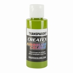 Createx Classic Transparant  Leaf Green
