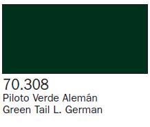 Panzer Aces Green Tail L. German