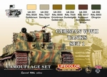German WWII Tanks set1