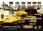 German WWII Tanks set2