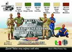 Italian WWII Regio Esercito Uniforms colours
