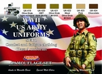 WWII US Army Uniforms Colours set1
