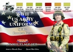 WWII US Army Uniforms Colours set2