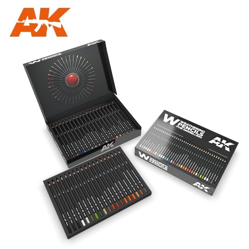 AK Weathering Pencils