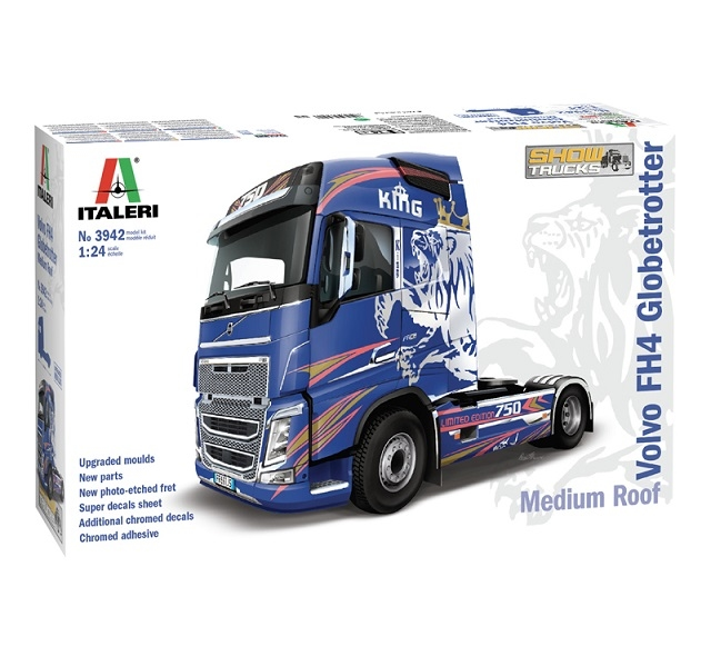 Italeri Trucks & Trailers 1/24