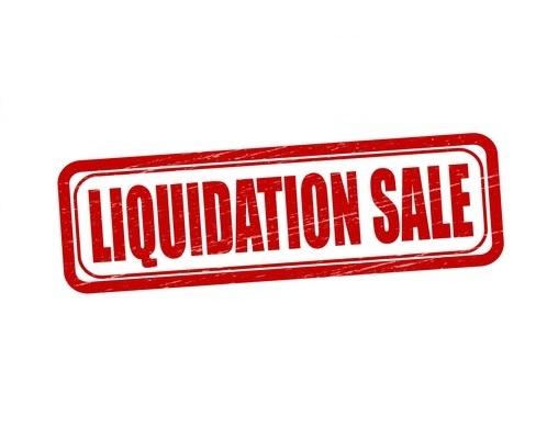 Liquidatie/Sale